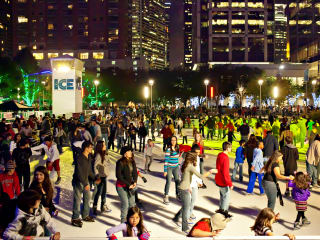 The Ice at Discovery Green Opening Celebration
