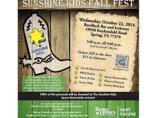 Sunshine Kids Fall Fest