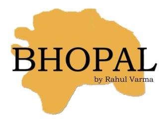 Shunya Theatre presents Bhopal by Rahul Varma