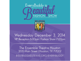"Best Buddies Texas hosts ""Champion of the Year: EveryBuddy is Beautiful Fashion Show"""