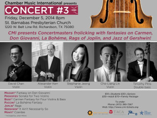 Chamber Music International concert #3