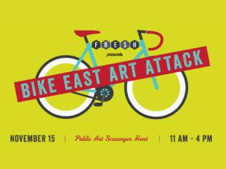 FRESH Art Attack Bike Scavenger Hunt 2014