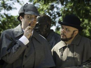 Austin Playhouse - Sherlock Holmes - Jason Newman - J. Ben Wolfe
