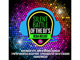 """""""Silent Battle of the DJs"""" benefiting IEDA Relief"""