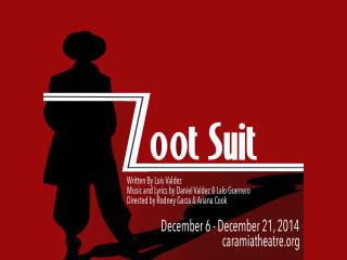 Cara Mia Theatre Co. presents Zoot Suit