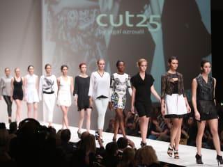 Fashion Houston November 2013 Yigal Azrouel Look 3