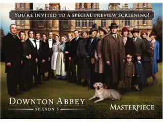 Downton Abbey season 5 preview screening