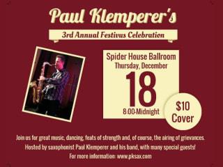 Paul Klemperer's Festivus 2014