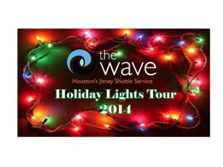 "Houston Wave and Buffalo Bayou Partnership host ""Holiday Lights Tours"""