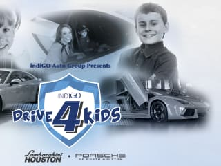 """indiGO Drive 4 Kids"" benefiting The Texas Children's Cancer and Hematology Centers"