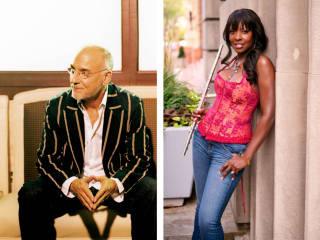 Larry Carlton and Althea Rene