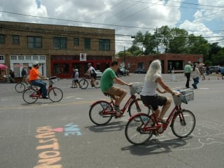 "Bayou City Outdoors hosts ""BCO, B-Cycles and Sunday Streets HTX Ride"""