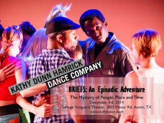 Kathy Dunn Hamrick Dance Company - Briefs - December 2014