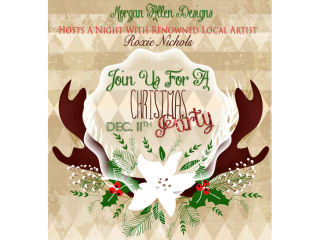 Morgan Allen Designs presents Christmas Party