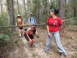 "Bayou City Outdoors hosts ""A Walk in the Woods, AKA Hiking Memorial Park Trails"""