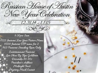 Russian House of Austin New Year's Party Masquerade 2014