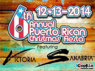 6th Annual Puerto Rican Christmas Fiesta 2014