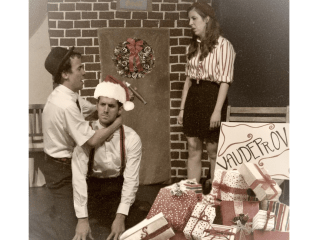 "Improv Comedy: ""A Very Vaudeprov Christmas"" with CAN Film Festival and Casual Latin – Level 1 Recital"