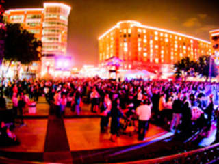 New Year's Eve On The Square Celebration