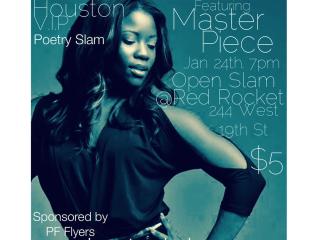 Houston VIP Poetry Slam and Workshop Series