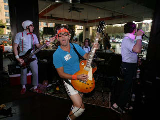 The Spazmatics at Napz Wakes Up Mo's benifiting Child Advocates August 2014