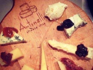 Antonelli's Cheese Shop cheese platter