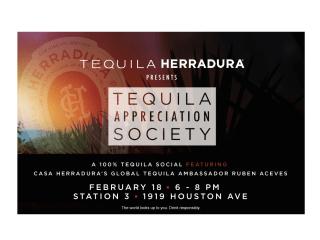 Herradura presents Tequila Appreciation Society