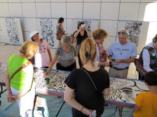 Rice University hosts Sumi Ink Club