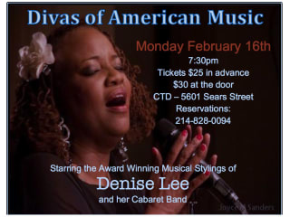 Contemporary Theatre of Dallas presents Divas of American Music