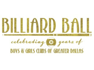 Boys & Girls Clubs of Greater Dallas presents Billiard Ball