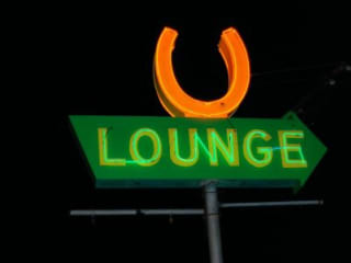 The Horseshoe Lounge_neon sign_South Lamar location