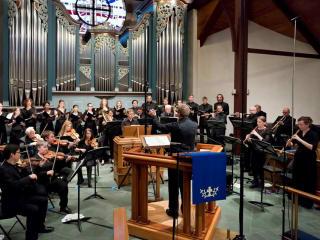 "Bach Society Houston presents ""Bach Vespers"""