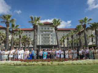 Hotel Galvez Wedding Vow Renewal Ceremony 2015