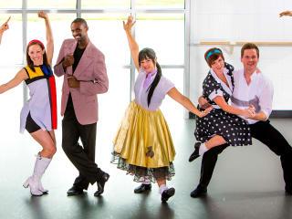 "Houston Metropolitan Dance Company presents ""Swing Jive & Pop! Into Dance"""