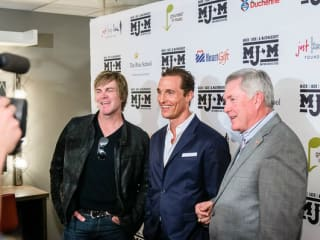 Mack Jack McConaughey benefit with Jack Ingram and Matthew McConaughey