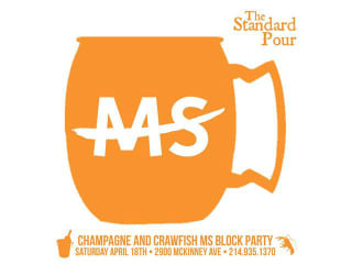 Champagne and Crawfish MS Block Party