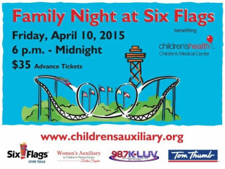Family Night at Six Flags