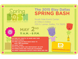 Etsy Dallas Spring Bash