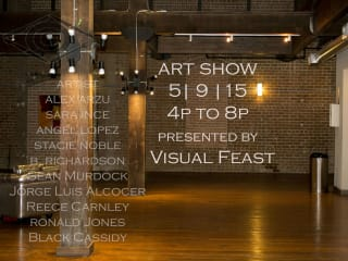 Visual Feast Art Show-Del Sol