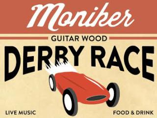 Moniker Guitars_Guitar Wood Derby Car Race_poster CROPPED_June 2015
