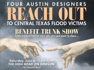 Reach Out Benefit Trunk Show_Central Texas flood_June 2015