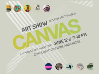 CANVAS Art Show at Ladybirds