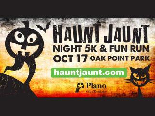 Plano Haunt Jaunt Night 5K Walk & 1 Mile Fun Run