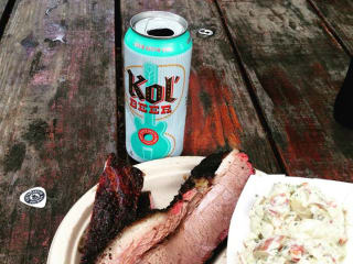 South Austin Brewery_Kol beer_Micklethwait Craft Meats_barbecue_2015