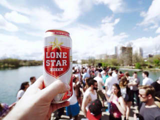 Lone Star Beer_tall boy_can_Austin_skyline_2015