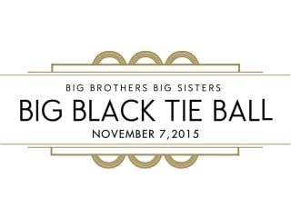 2015 Big Black Tie Ball