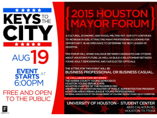 Keys to the City: Houston Mayoral Forum