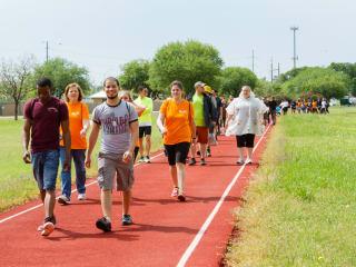 Austin Take Steps Walk For Crohn's & Colitis Foundation