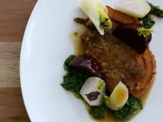 L'Oca D'Oro Austin restaurant Italian pork dish