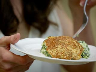 Roni Proter's spinach souffle